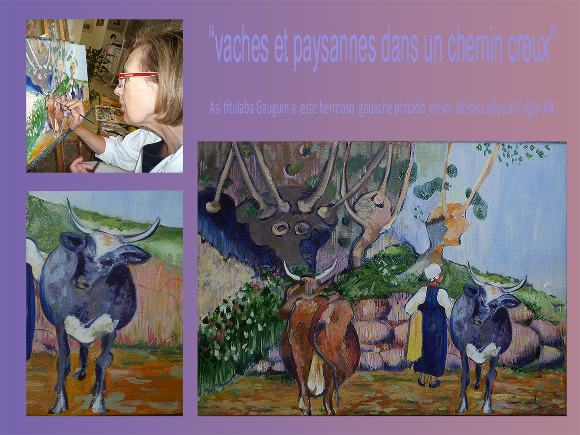 vaca gauguin