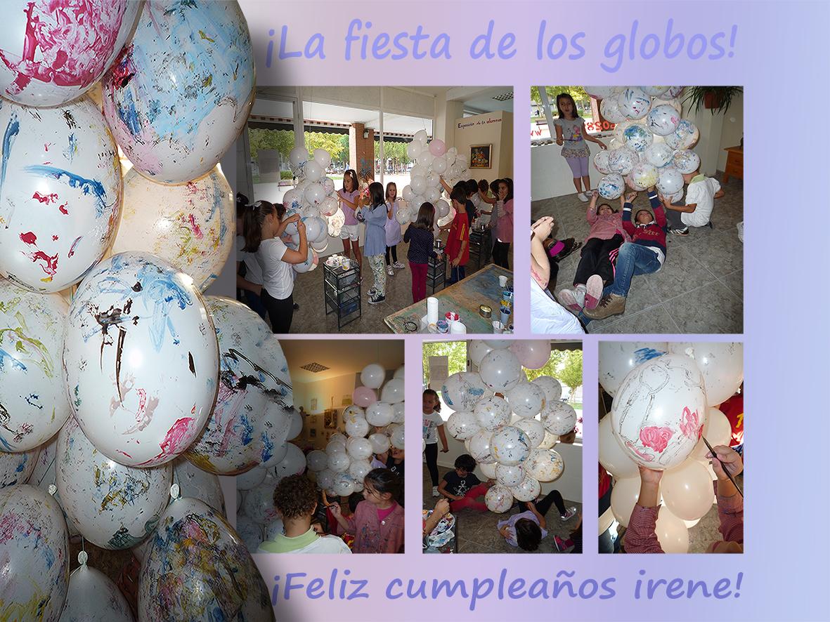 la fiesta de los globos